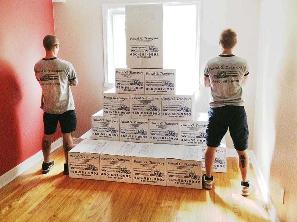 service d'emballage de déménagement