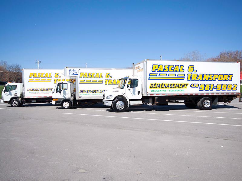 Flotte de 3 camions